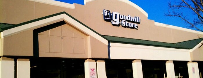 Goodwill is one of Thrifting Spots in the Southeast.