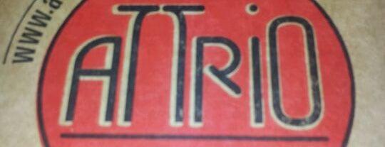 Attrio Pizza Bar is one of Restaurantes, Bares e Coffee Shops favoritos.