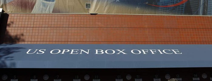 US Open Box Office is one of US Open Grounds.