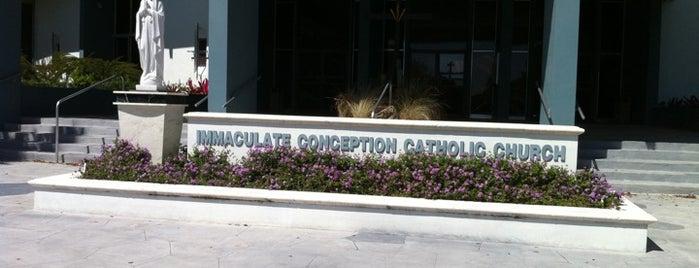 Immaculate Conception Catholic Church is one of Lieux qui ont plu à Daniel.