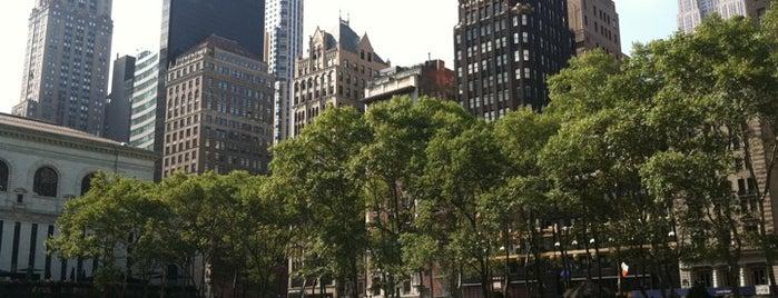 Bryant Park is one of New York Wishlist.