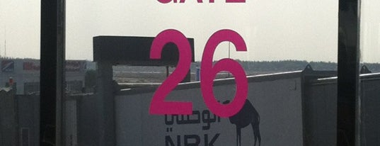 Gate 26 is one of Where, When & Who List-1!.