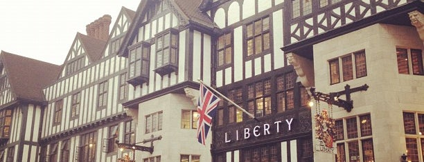 Liberty of London is one of London shopping..