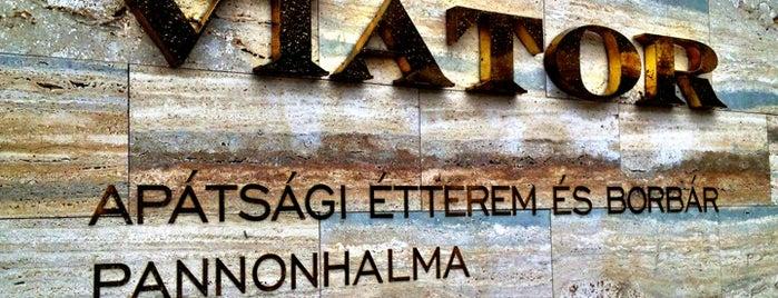 Viator Apátsági Étterem és Borbár is one of Borbár / Wine bar.