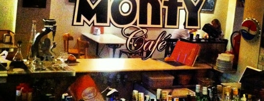 Monty Cafe is one of Restaurants.