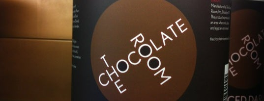 The Chocolate Room is one of Coffee shops.