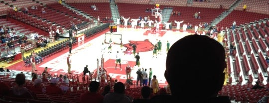 Bud Walton Arena is one of Stadiums Visited.