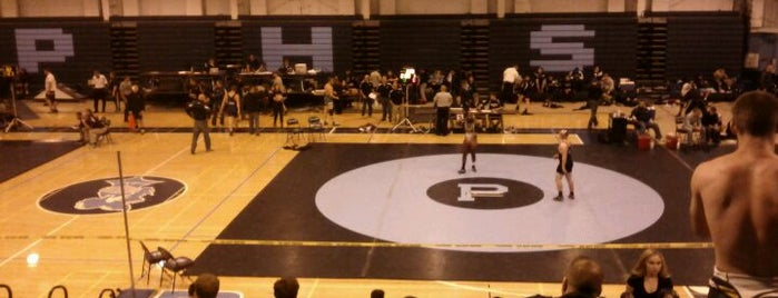 Prospect High School is one of High Schools I Referee.
