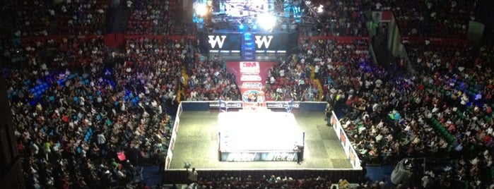 Arena México is one of THINGS TO CHECK OUT IN MEXICO CITY.