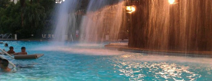 The Mirage Waterfall is one of Day With The Kids.