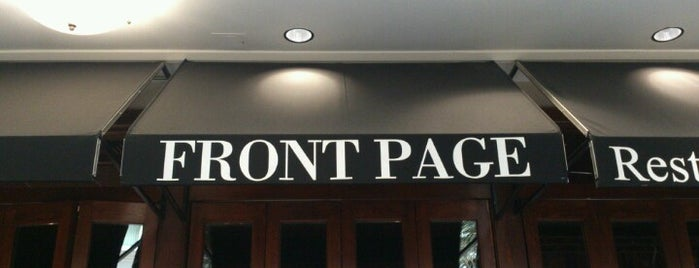Front Page Arlington is one of Womply Restaurants.