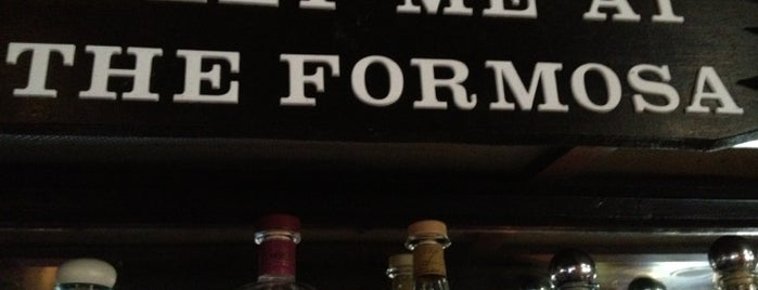 Formosa Cafe is one of LA Happy Hours.