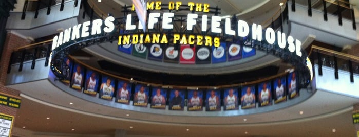 Bankers Life Fieldhouse is one of Sporting Venues To Visit.....