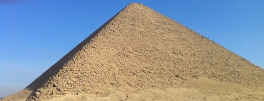 Red Pyramid of Sneferu is one of Egypt..