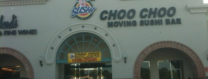 Sushi Choo Choo is one of Locais curtidos por Andrew.