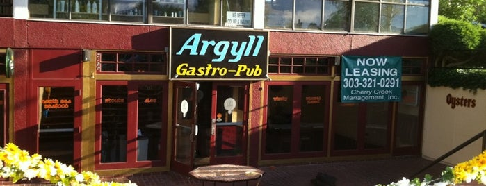 Argyll Pub is one of Best of Denver: Food & Drink.