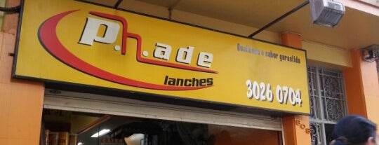 P.h.ade Lanches is one of Almoço no Centro de Porto Alegre.