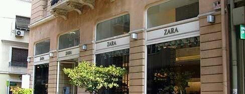 Zara is one of fotene : понравившиеся места.