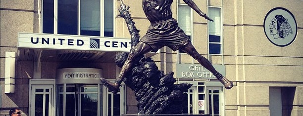 United Center is one of The Chicago Experience.