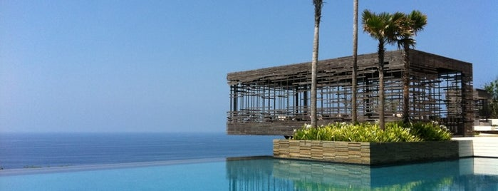 Alila Villas Uluwatu is one of Bail , Indonesia.