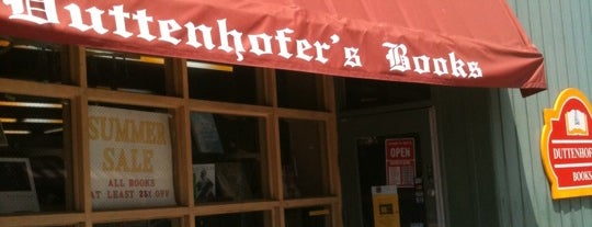 Duttenhofer's Books is one of Cincy.