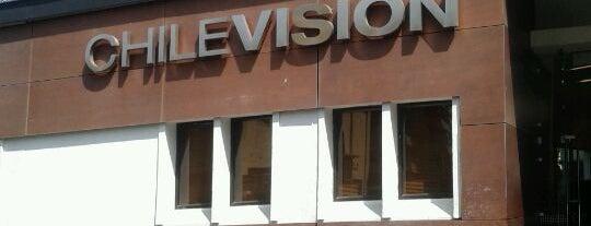 Chilevisión is one of สถานที่ที่ Sandra ถูกใจ.