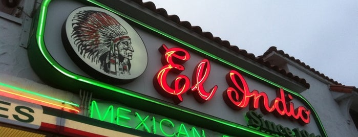 El Indio is one of Favorite Haunts Insane Diego.