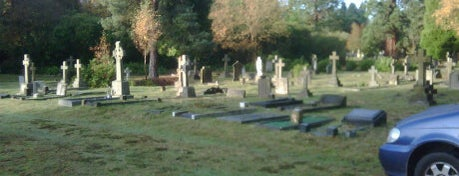 Brookwood Cemetery is one of Dead Famous People ☠.