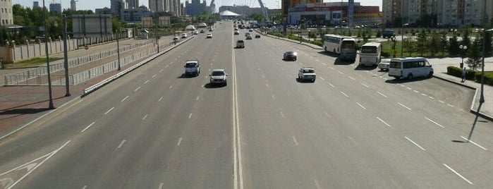 Пешеходный мост на Бараева is one of Astana Great Outdoors.