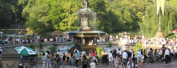 Bethesda Fountain is one of NYC Basic List.