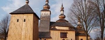 Drevený chrám sv. Michala, archanjela is one of UNESCO World Heritage Sites in Eastern Europe.
