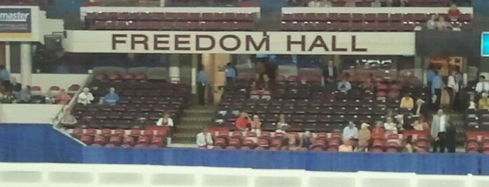 Freedom Hall is one of Lugares favoritos de Amanda.