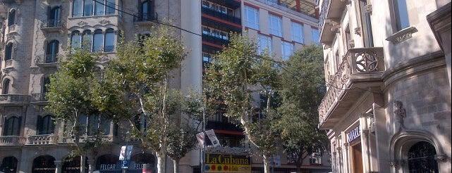 Passeig de Gràcia amb Gran Via de les Corts Catalanes is one of Barcelona.