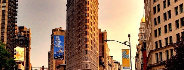 Flatiron District is one of Venues with free Wi-Fi in NYC.