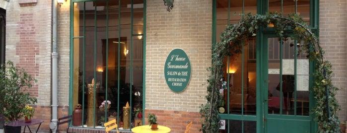 L'Heure Gourmande is one of Les 400 lieux branchés de Paris : Boire.