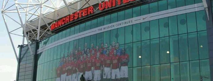 Manchester United Red Café is one of My Saved Venues Abroad.