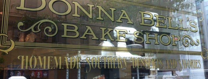 Donna Bell's Bakeshop is one of Tempat yang Disimpan Georgia❤.