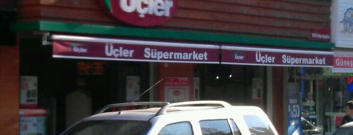 Üçler Süpermarket is one of Lieux qui ont plu à Bike.
