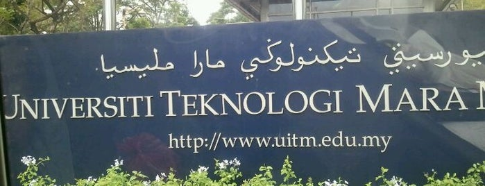 Universiti Teknologi MARA (UiTM) is one of g.