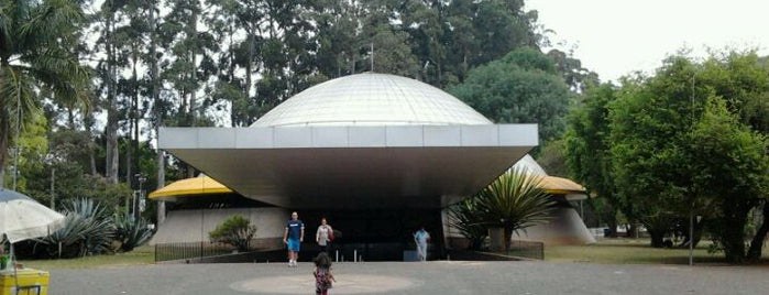 Planetário Professor Aristóteles Orsini is one of Atrações do Parque Ibirapuera.