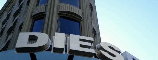 Diesel is one of San Francisco.