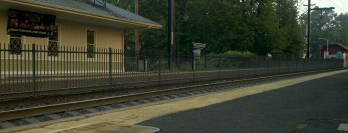 NJT - Mountain Avenue (MOBO) is one of New Jersey Transit Train Stations.