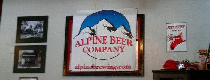 Alpine Beer Company is one of Craft Beer Hot Spots in San Diego.