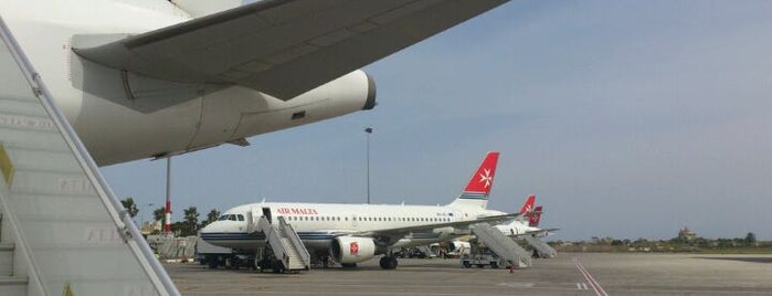 Malta International Airport (MLA) is one of AIRPORT.