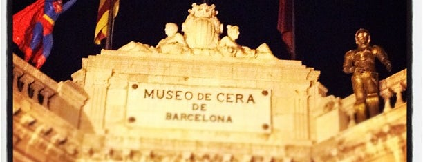 Museu de Cera de Barcelona is one of Barcelona.