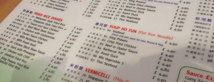 Chop Chop Noodle Bar is one of Legit Asian Places in London.