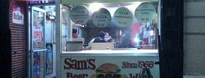 Sam's is one of San Francisco.
