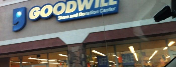 Goodwill is one of Posti che sono piaciuti a Stephen G..
