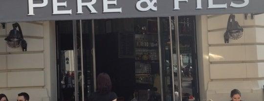 Café Père & Fils is one of Paris.