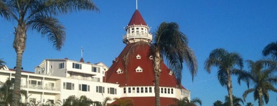 Hotel del Coronado is one of Big Country's Favorite Hotels.